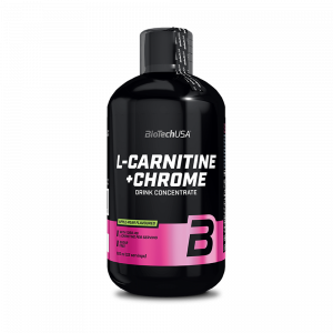 BioTechUSA L-Carnitine+Chrome 500ml